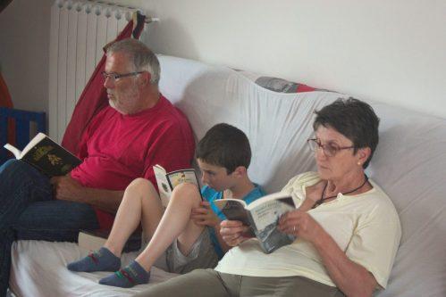 Brochette de lecteurs